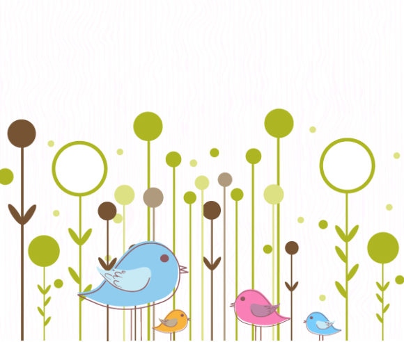 Lovely Background Vector: Abstract Background Vector Illustration 5 9 2011 108