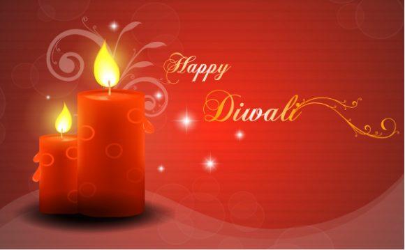 Vector Diwali Greeting Card 6 10 2011 101