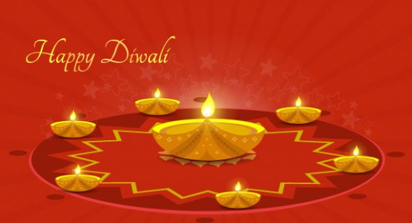 Trendy Card Vector Graphic: Vector Graphic Diwali Greeting Card 6 10 2011 103