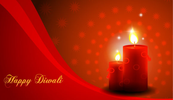 Illustration Vector Diwali Card Vector Illustration 5