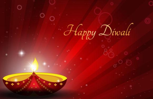 Trendy Illustration Vector Graphic: Diwali Card Vector Graphic Illustration 6 10 2011 107