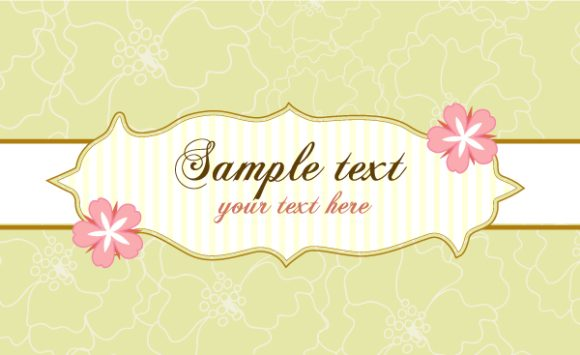 With, Abstract-2 Vector Design Abstract Frame With Flowers Vector Illustration 6 9 2011 101