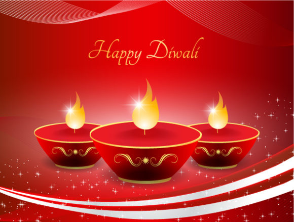 Vector Vector: Vector Diwali Greeting Card 7 10 2011 101