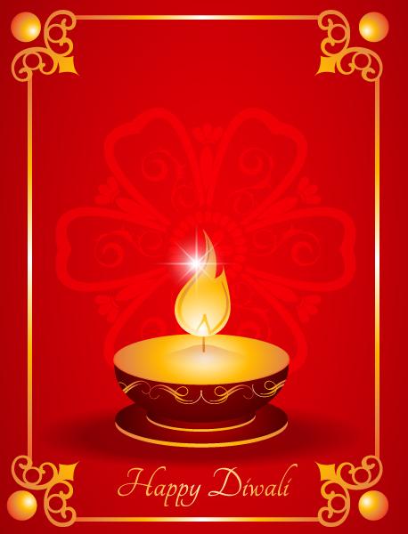Greeting Vector Vector Diwali Greeting Card 7 10 2011 104