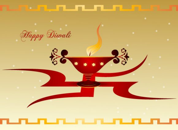 Abstract-2 Vector Background Vector Diwali Greeting Card 7 10 2011 106