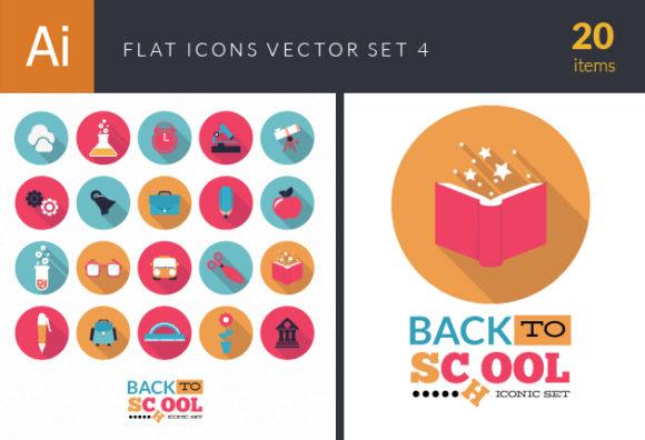 Flat Icons Set 4 DesignTnT Flat Icons Set 4 vector small