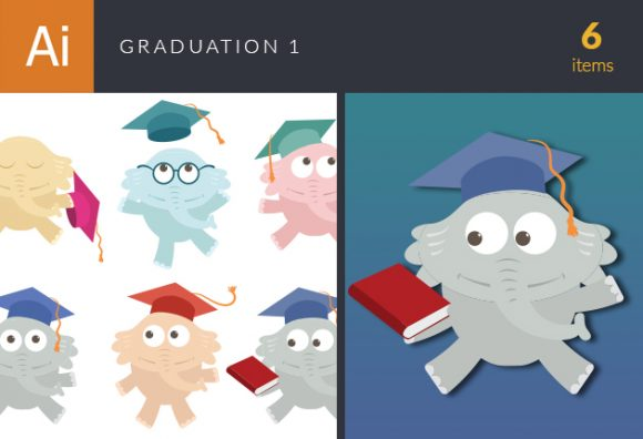 Graduation Vector Set 1 5