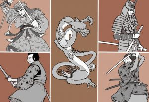 Samurai Vector Pack 1 Vector packs japanese