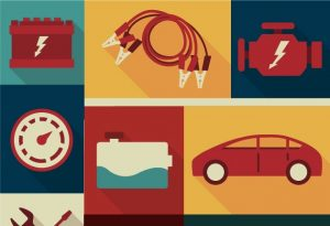 Automobile Mechanic Vector Set Vector packs car