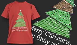 T-Shirt Design 1382 T-shirt Designs and Templates tree