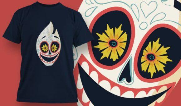 T-Shirt Design 1396 T-shirt Designs and Templates vector