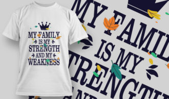 T-Shirt Design 1410 T-shirt Designs and Templates vector