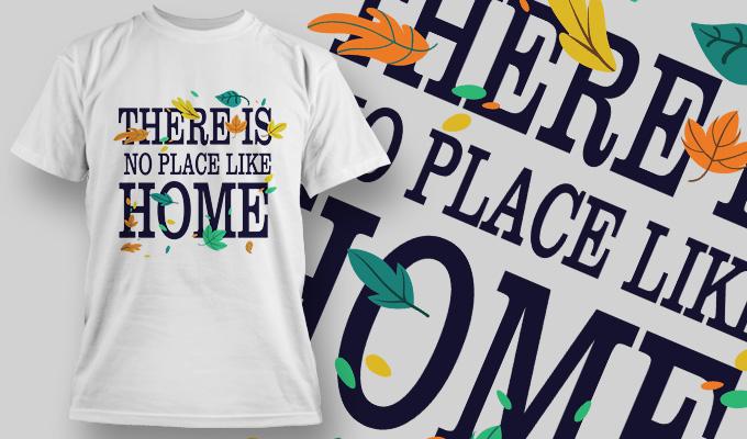 T-Shirt Design 1416 T-shirt designs and templates vector