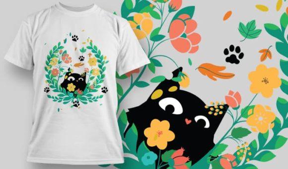 T-Shirt Design 1438 designious tshirt design 1438