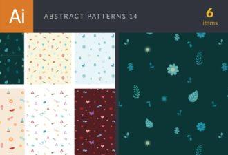 Abstract Vector Patterns Vector Set 14 Vector packs patterns