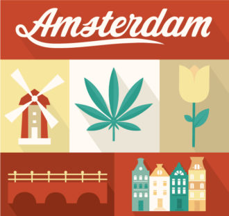 Amsterdam Vector Vector packs nature