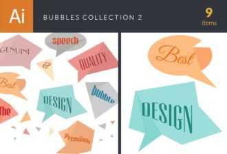 Bubbles Collection Vector Set 2 Vector packs abstract