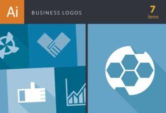 Business Logos Vector Set 2 Vector packs hand
