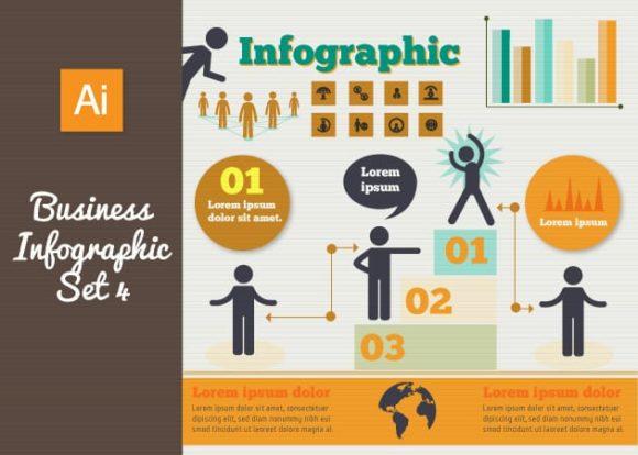 Business Vector Infographics Set 4 3