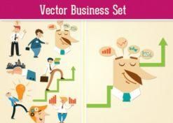 Business Vector Set 2 Vector packs hand