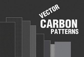 Carbon Metal Pattern Vector Vector packs patterns