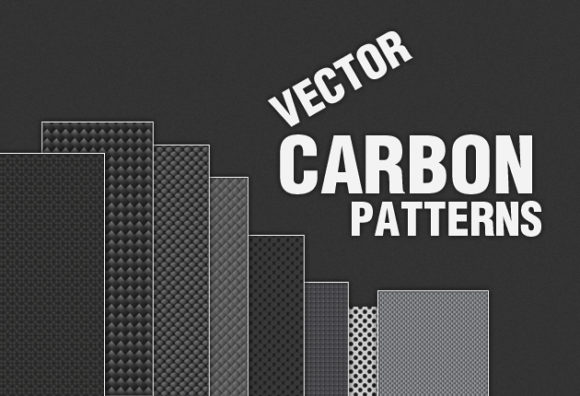Carbon Metal Pattern Vector Vector packs patterns