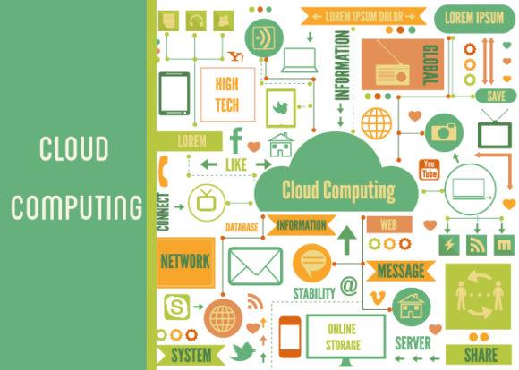 Cloud Computing Vector Elements Set 1 designtnt cloud computing vector elements set 1 vector small