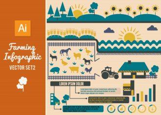 Farming Infographics Set 2 Infographics tree