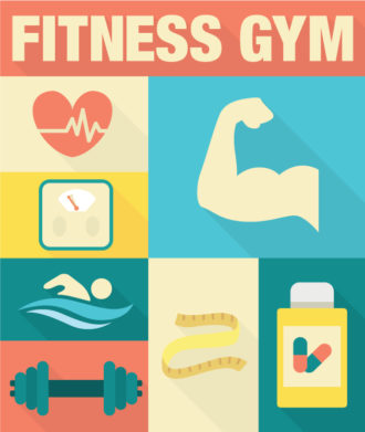 Fitness Trainer Vector Vector packs [tag]