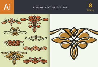 Floral Vector Set 167 Vector packs floral