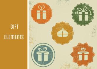 Gift Box Icons Vector Set 1 Vector packs LOVE
