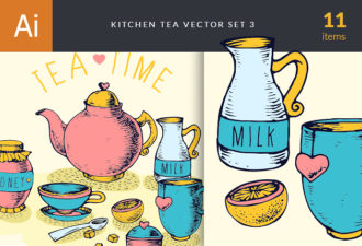 Kitchen Vector Set 3 Vector packs lemon