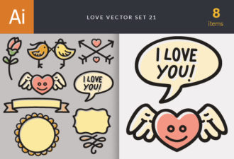 Love Vector Set 21 Vector packs Editor's Picks – Love