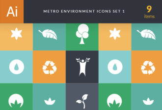 Metro Environment Set 1 Vector packs tree