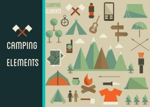 Mountain and Camping Vector Vector packs [tag]