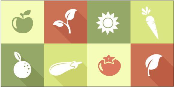 Organic Logos Vector 2 designtnt organic logos vector 2 vector small