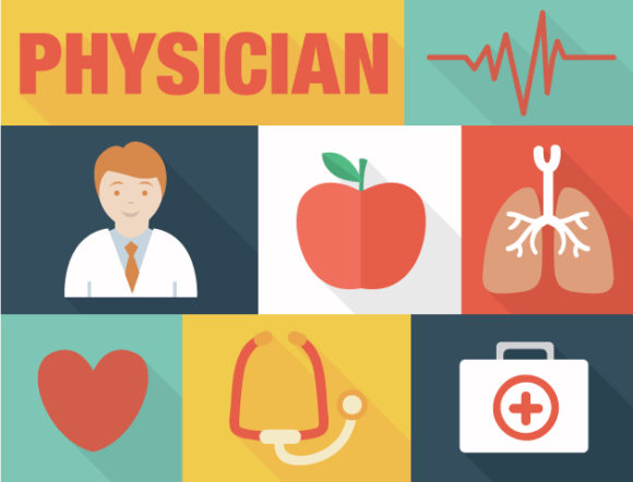 Physician Vector designtnt physician vector small