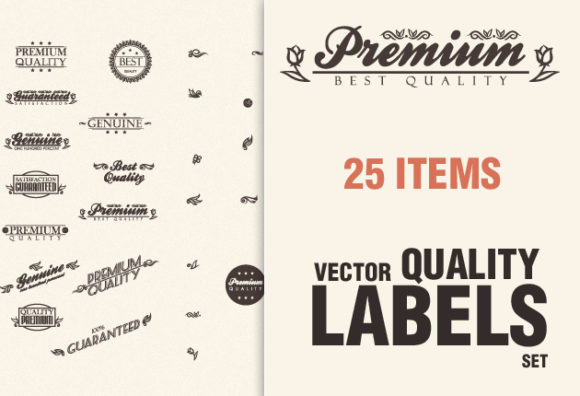 Premium Quality Signs 1 Vector packs vintage