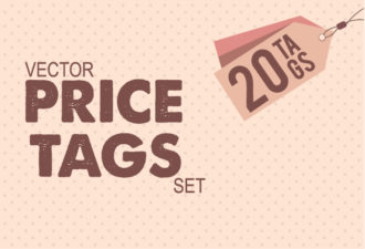 Pricing Tags Vector packs abstract