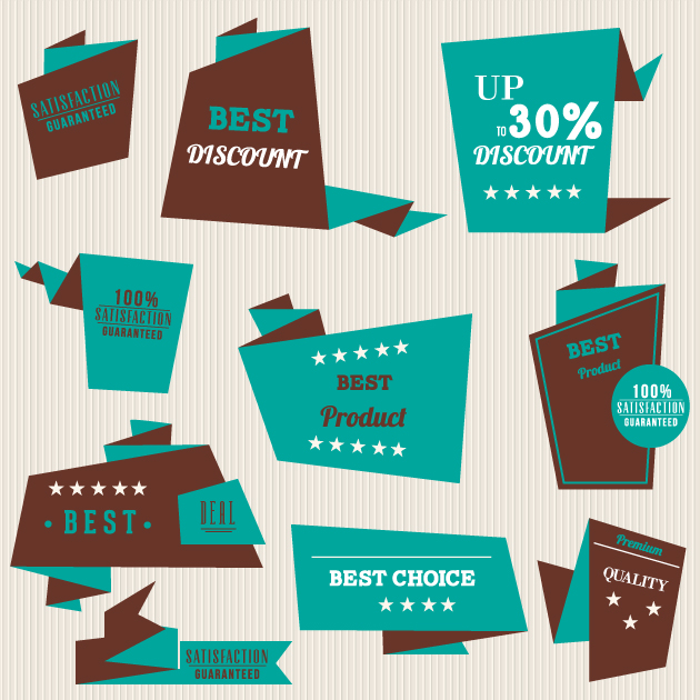 Product Recommendations Vector Set 1 6