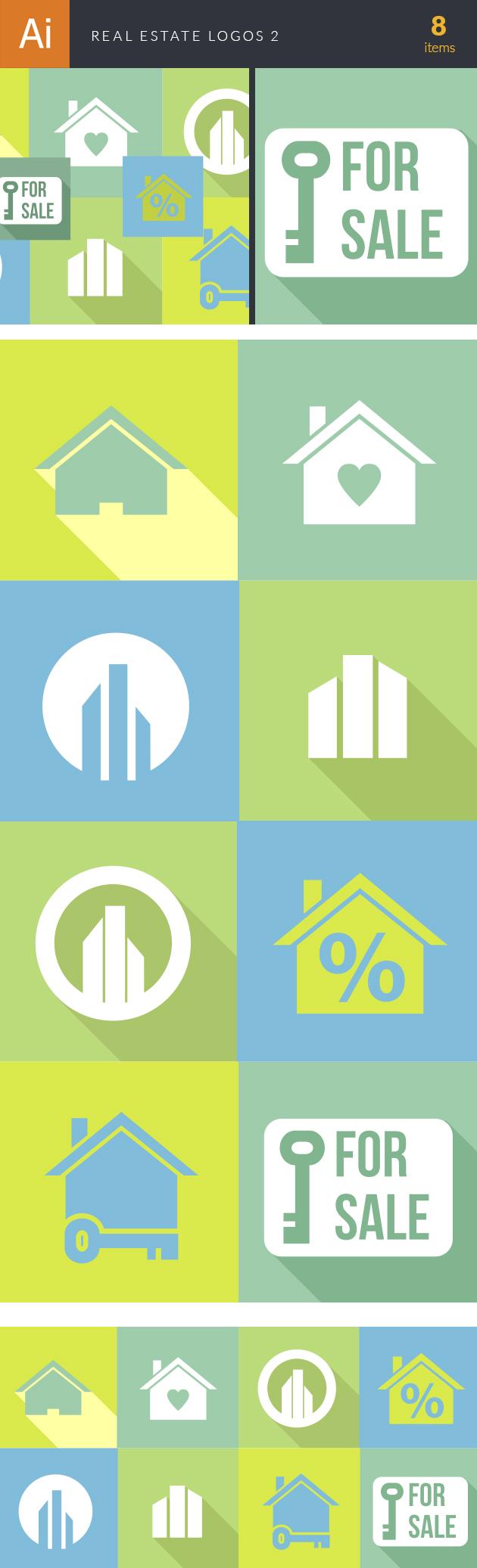 Real Estate Logos Vector 2 6