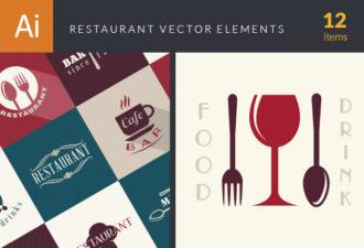 Restaurant Elements Vector Vector packs menu