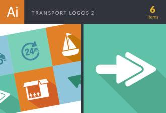 Transport Logos Vector Set 2 Vector packs box