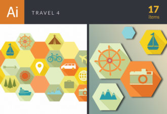 Travel Vector Set 4 Vector packs tree