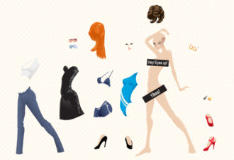 Vector Glamour Girls Collection Vector packs people