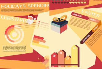 Holidays Vector Infographics Infographics vector