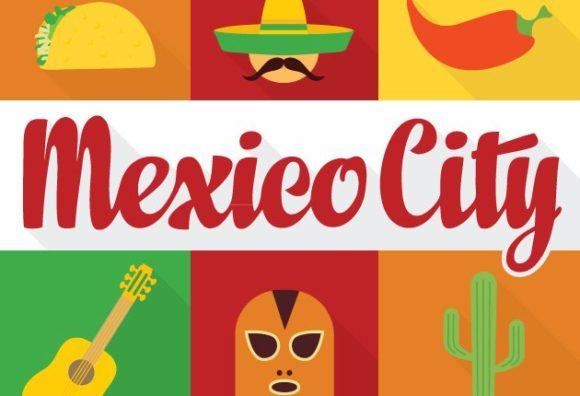 Mexico City Vector 1