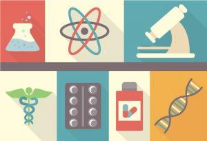 Pharmacist Vector Vector packs chemistry