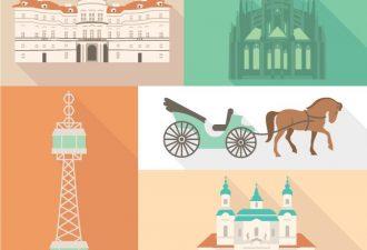 Prague Vector Vector packs horse