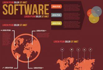 Software Vector Infographics Infographics vector